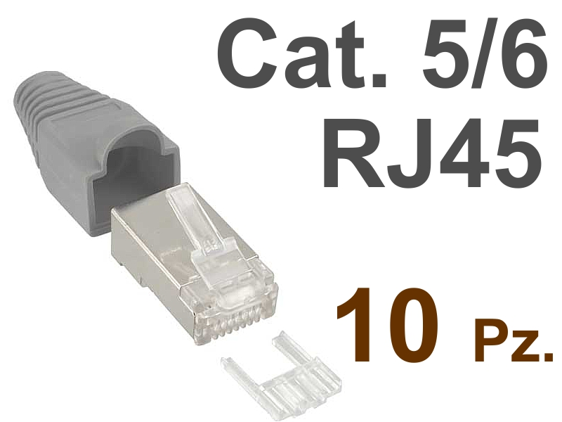 Plug Ethernet RJ45 Lan